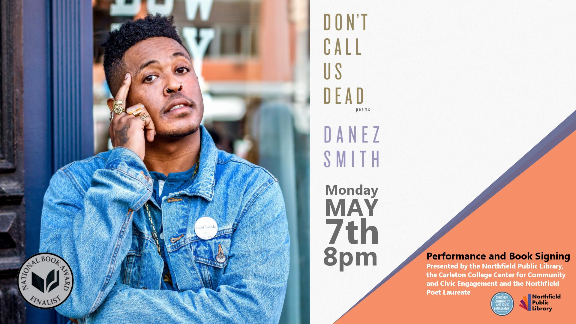 """Don't Call Us Dead"", poems by Danez Smith"